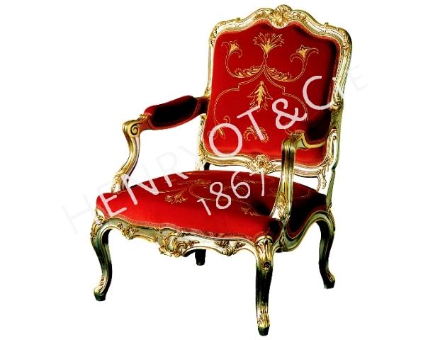 2 Fauteuil Louis XV1f