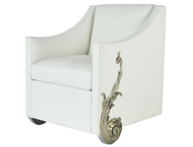fauteuil bronze 1