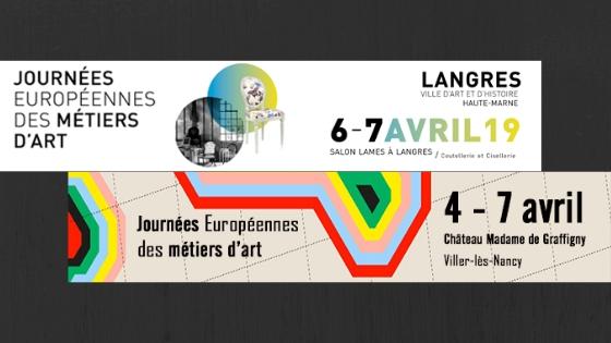 Journées européennes des métiers d'arts langres et nancy henryot & cie
