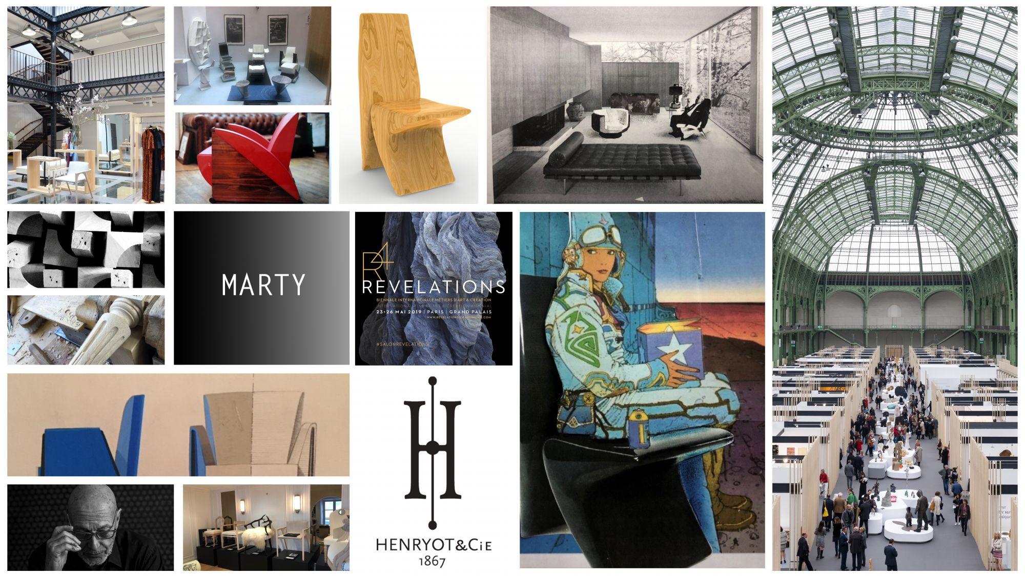Henryot et cie salon révélation 2019 création design mobilier MARTY MHC