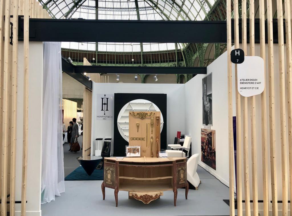 Commode Gilles Joubert ébénisterie d'art DISSIDI salon révélations marqueterie