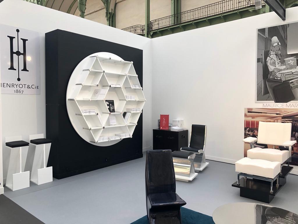 Bibliothèque design marty henryot & cie maison dissidi