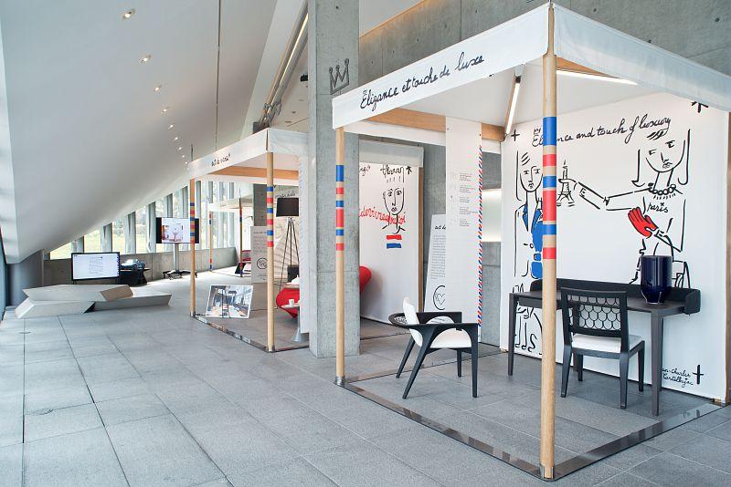 No taste for bad taste henryot et cie sièges de luxe made in france exposition