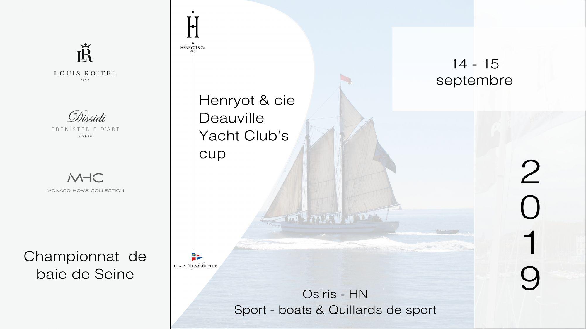 Régate henryot & cie yacht club deauville 2019