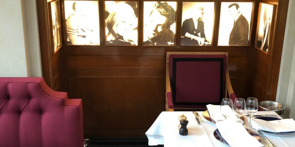 Restaurant Théâtre Marigny Paris manufacture Henryot & cie