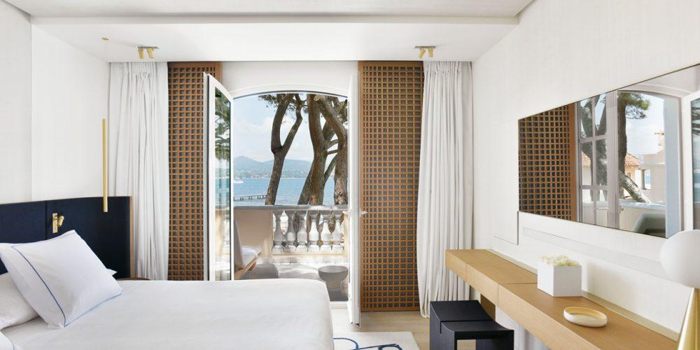 Hotel spa luxe Henryot & cie cheval blanc saint tropez chaises fauteuils et tabourets
