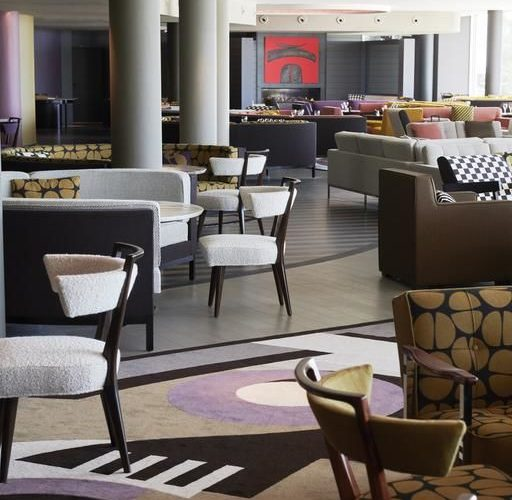 Plage Palace Hotel palavas les flots frères costes Henryot & cie graf paris chaises et fauteuils haut de gamme contemporains
